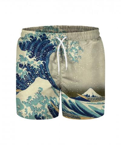 JAPANESE GREAT WAVE Swim Shorts