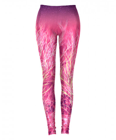 STARRY NIGHT IN A MAGIC FOREST Leggings
