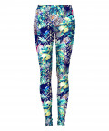 TRIBAL AND LEOPARDS IN THE RAINFOREST Leggings