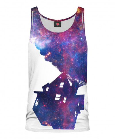 UP IN SPACE Tank Top