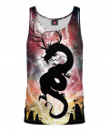 THE DRAGON THAT STOLE THE MOON Tank Top