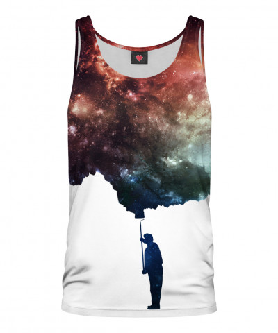 PAINT THE SPACE Tank Top