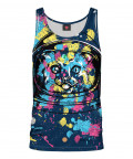 Tank Top COLORFUL CAT SPACE