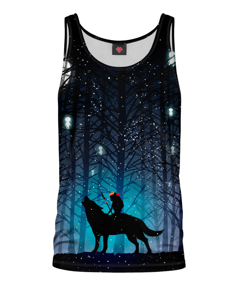 Tank Top FOREST WOLF
