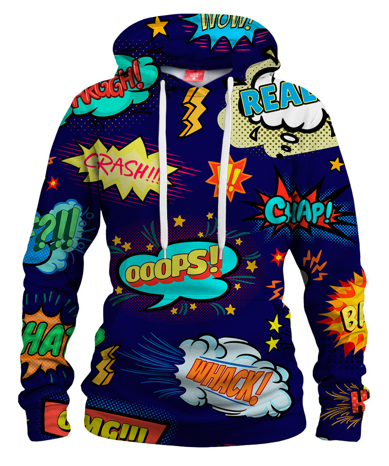 Damska bluza z kapturem OMG COMICS