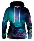 UNREAL STORMY OCEAN Womens hoodie
