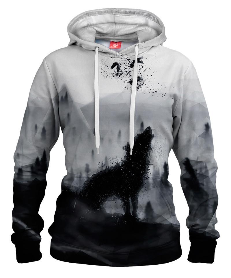 THE LONE WOLF Womens hoodie