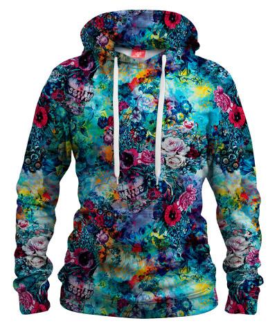SURREAL SKULL Womens hoodie
