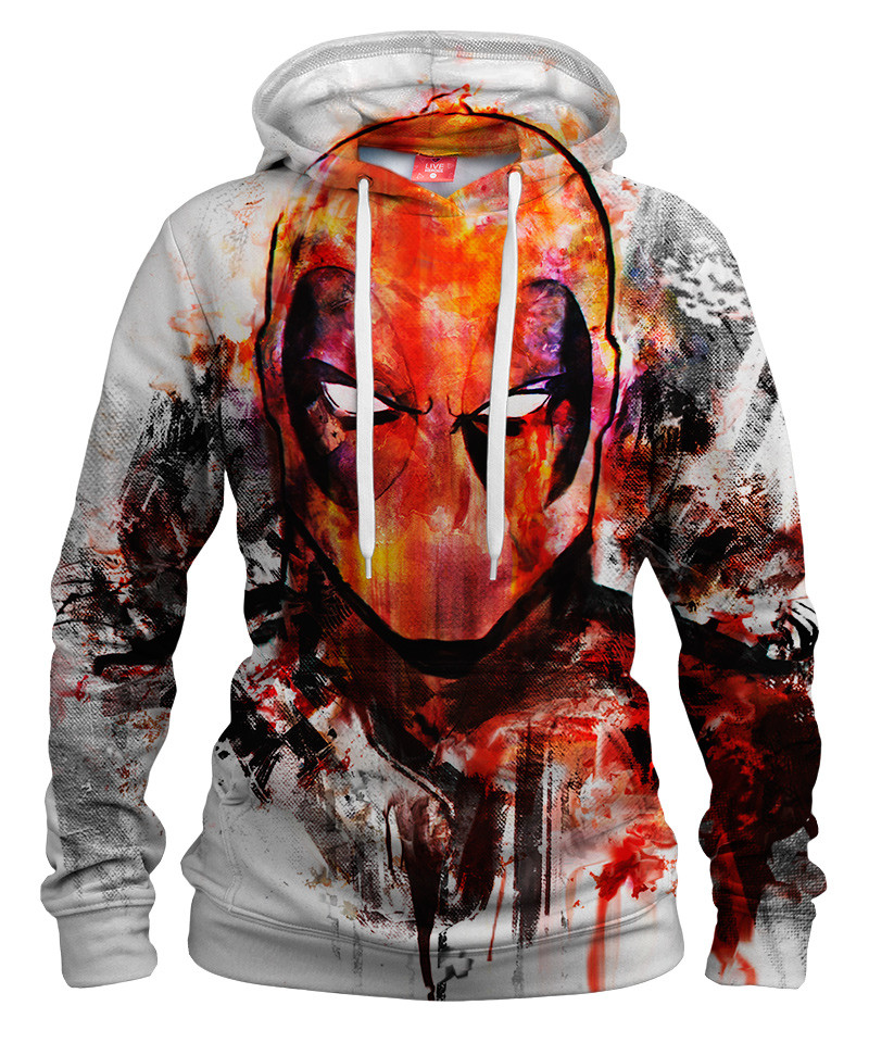Damska bluza z kapturem DEADPOOL FACE