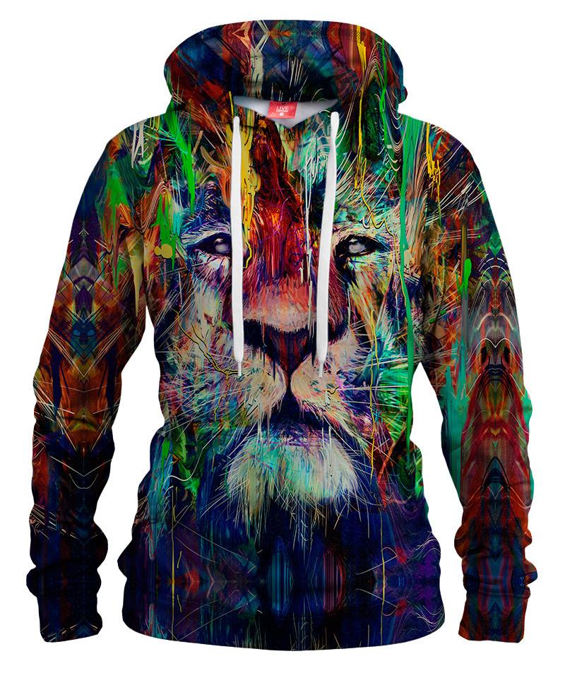 Damska bluza z kapturem LION