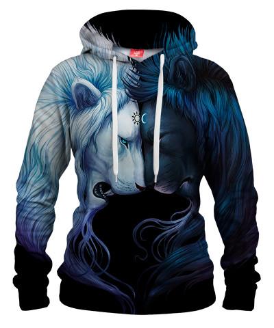 DAY AND NIGHT Womens hoodie