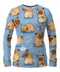 I LOVE PUGS Women Sweater
