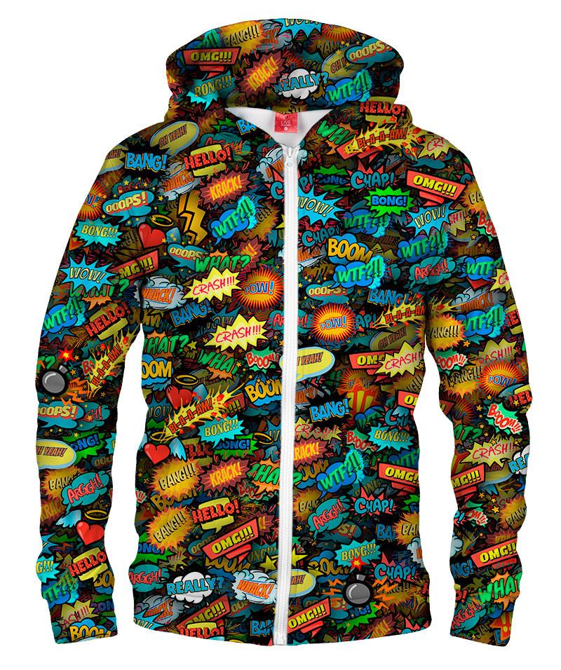 Bluza z zamkiem COMICS SPECIAL EFFECTS