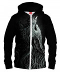 INFESTED WOLF Hoodie Zip Up