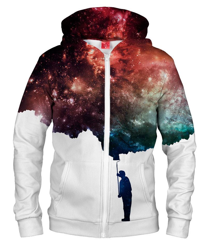Bluza z zamkiem PAINT THE SPACE