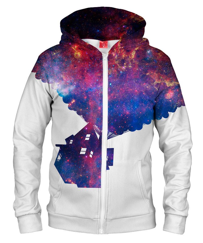 Bluza z zamkiem UP IN SPACE