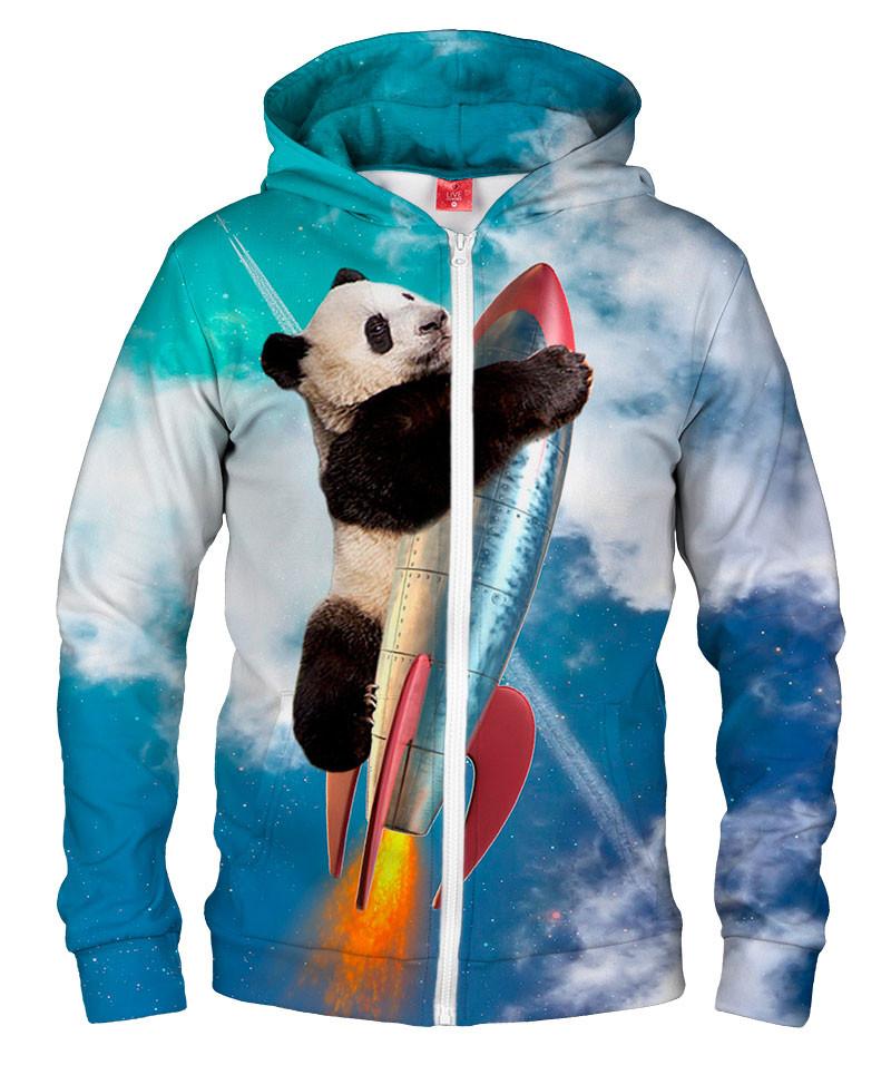 FLY PANDA FLY Hoodie Zip Up