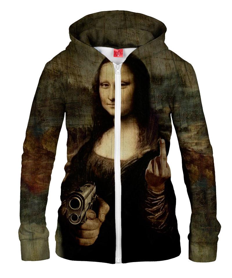 Damska bluza z zamkiem MONA DIRTY