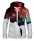 Damska bluza z zamkiem PAINT THE SPACE