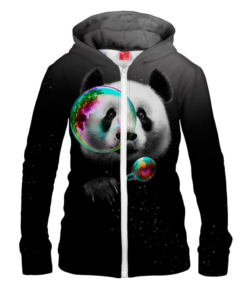 Damska bluza z zamkiem PANDA BUBBLEMAKER