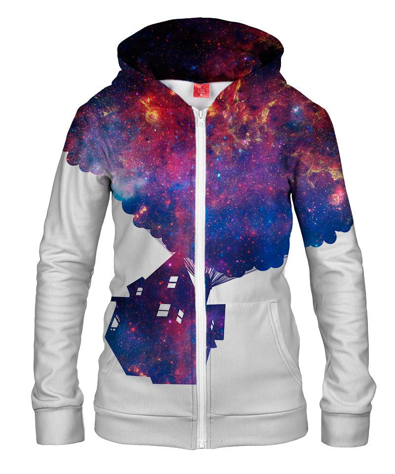 Damska bluza z zamkiem UP IN SPACE