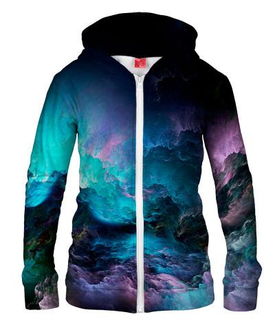 Damska bluza z zamkiem UNREAL STORMY OCEAN