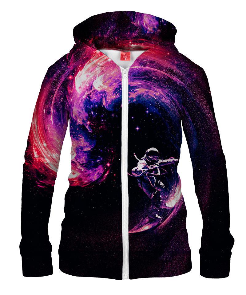 Damska bluza z zamkiem SPACE SURFING