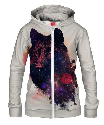 Damska bluza z zamkiem UNIVERSAL WOLF