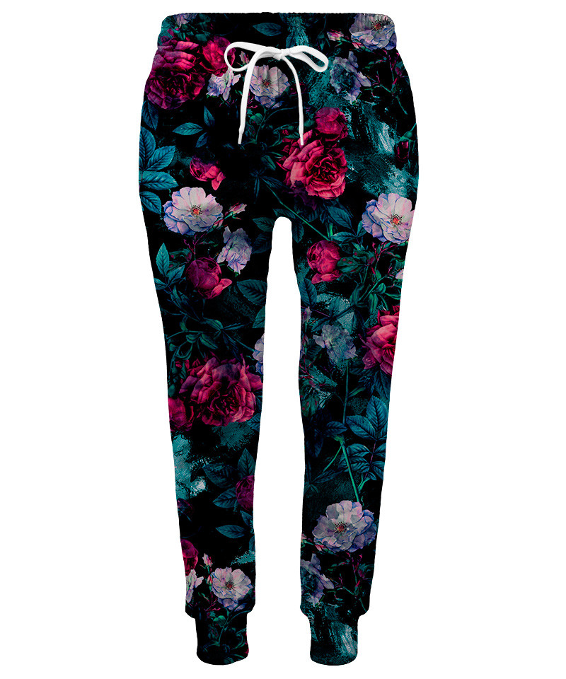 FLORAL ABSTRACT Womens sweatpants