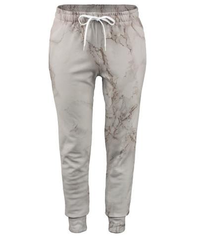 Spodnie damskie WHITE MARBLE
