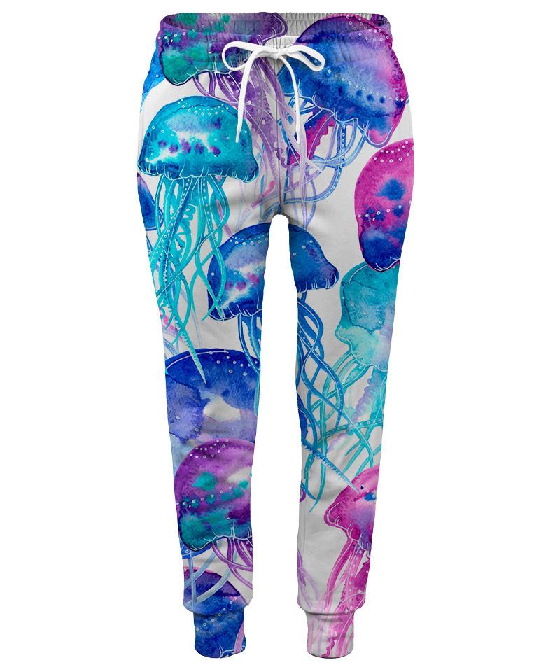 WATERCOLOR JELLYFISH Womens sweatpants