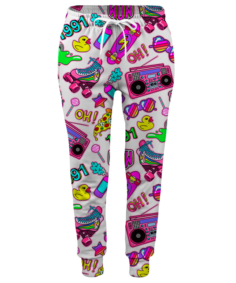 BACK TO THE 80'S Womens sweatpants