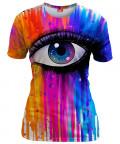 COLORFUL TEARS Womens T-shirt