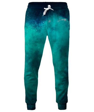 COLORFUL BLUE GALAXY Sweatpants