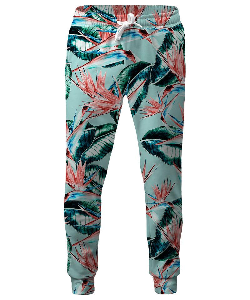 Spodnie PATTERN BOTANICAL