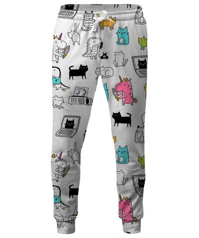 UNICORNS CATS DINOS Sweatpants