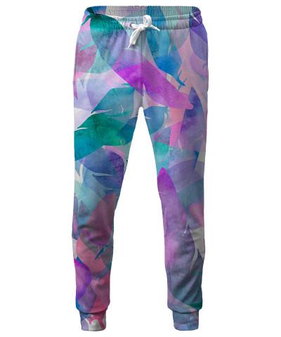 WATERCOLOR FEATHER HAZE Sweatpants