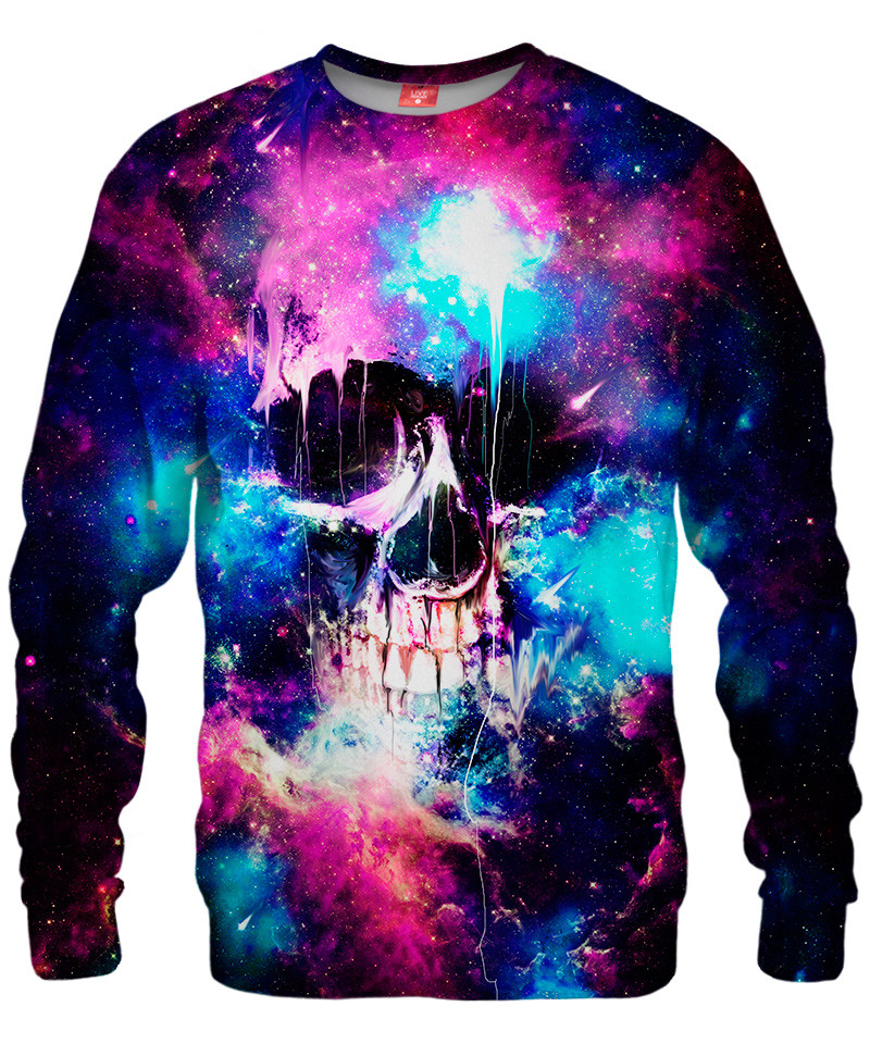SPACE SKULL Sweater