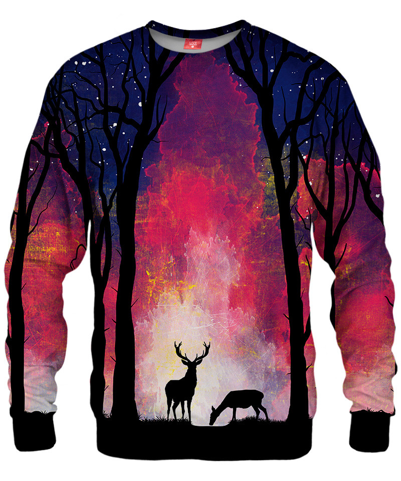DEER IN THE FOREST Sweater