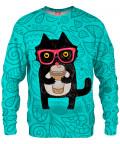 COFFEE KITTY CAT Sweater