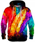 COLORFUL BIRD FEATHERS Hoodie