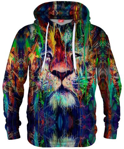 Bluza z kapturem LION