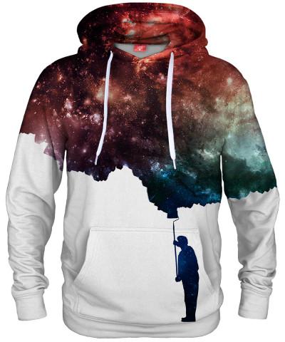 Bluza z kapturem PAINT THE SPACE