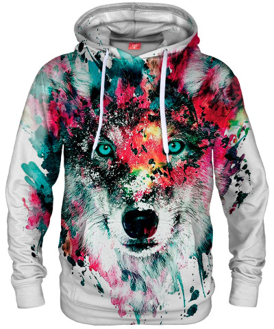 Bluza z kapturem STRANGE WOLF