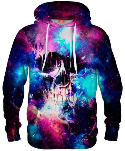 Bluza z kapturem SPACE SKULL