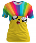 RAINBOW JAKE Womens T-shirt