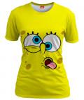 YELLOW FACE Womens T-shirt