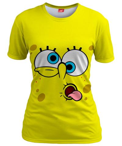 Koszulka damska YELLOW FACE