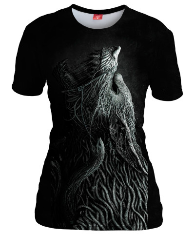 INFESTED WOLF Womens T-shirt