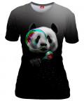 PANDA BUBBLEMAKER Womens T-shirt